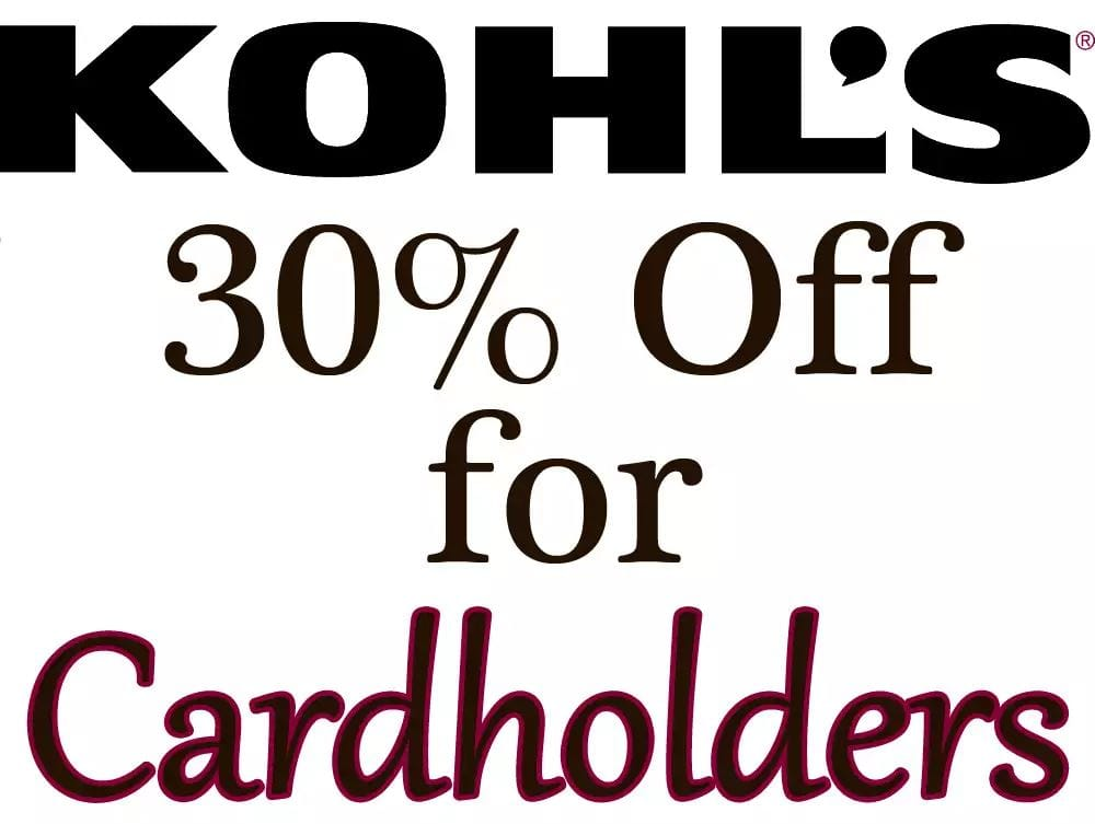 f85f4ffb1 Kohl's Cardholders Coupon for Additional Savings - Slickdeals.net