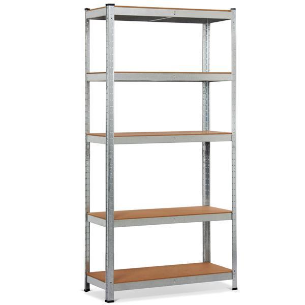 Walmart - Industrial Storage Rack, 5 Shelf Steel Shelving!! $47.88