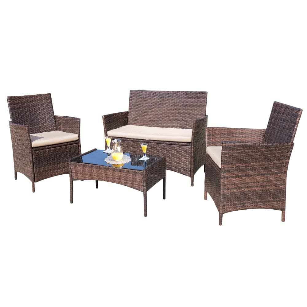 Walmart - Walnew 4 Piece Outdoor Patio Furniture Set $168.87