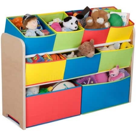 Walmart - Delta Children Deluxe Multi-Bin Toy Organizer with Storage Bins $24.93