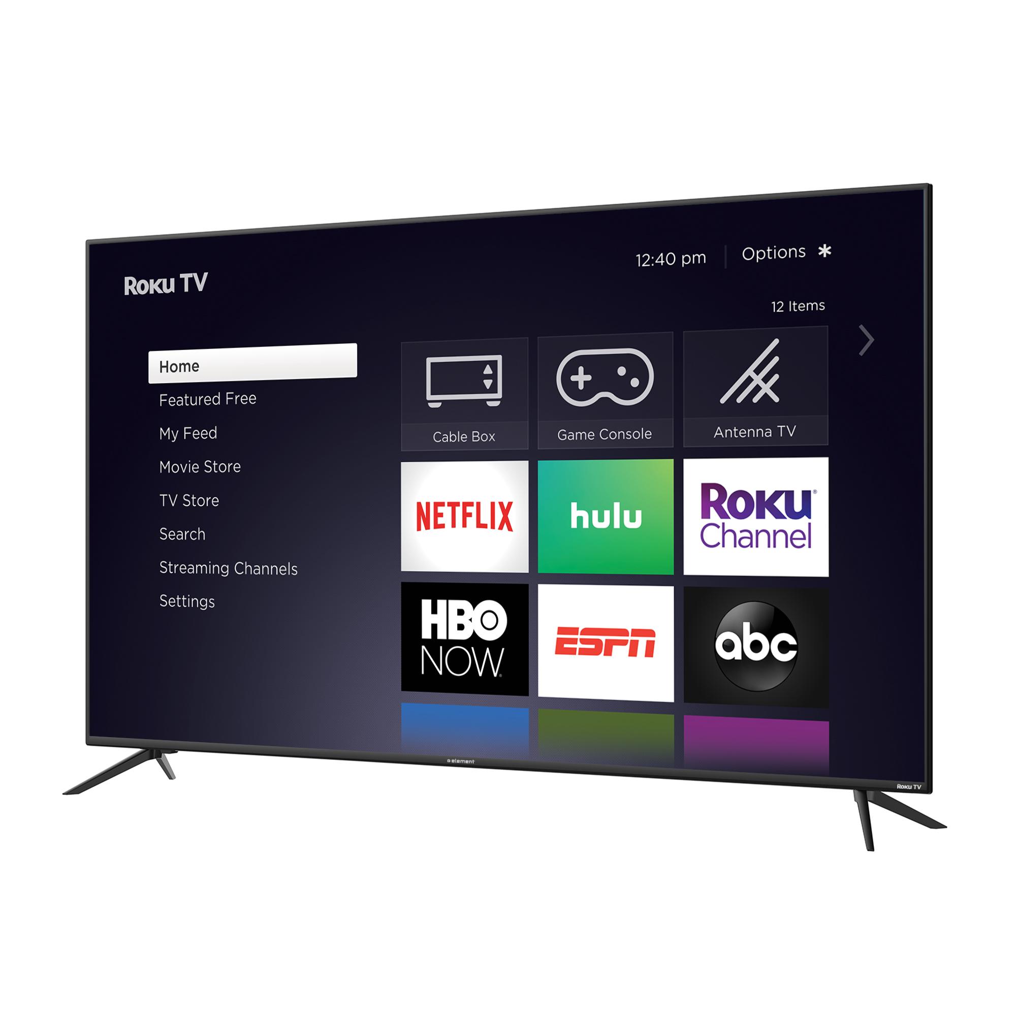 "ELEMENT 70"" Class 4K UHD LED Roku Smart TV HDR (E4SW7019RKU) $550"