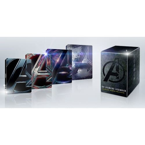 Best Buy : Avengers 4-Movie Collection [SteelBook] 4K Ultra HD Blu-ray/Blu-ray $64.99