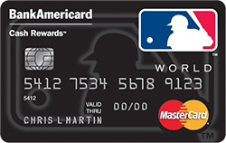 MLB BankAmericard Cash Rewards $200 back if $500 spent in the first 90 days  - Deal is back again