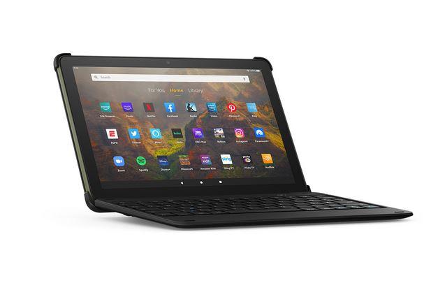Amazon Fire HD 10 Tablet + Keyboard w/ 12-month Microsoft 365 $149.99