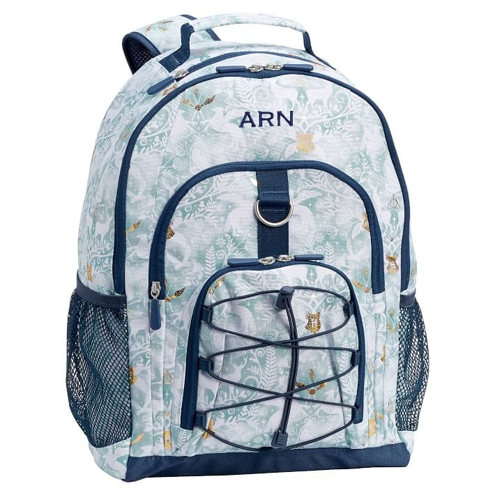 Pottery Barn Teen HARRY POTTER™ Magical Damask, Blue backpack $15.99
