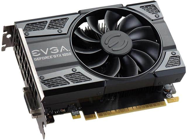 EVGA GeForce GTX 1050 SC GAMING $100 AR, Newegg