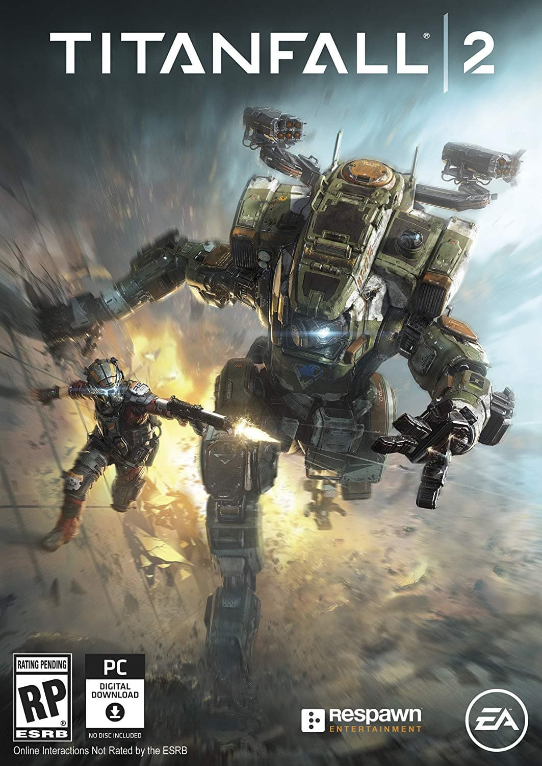Titanfall 2 PC game code $4.99