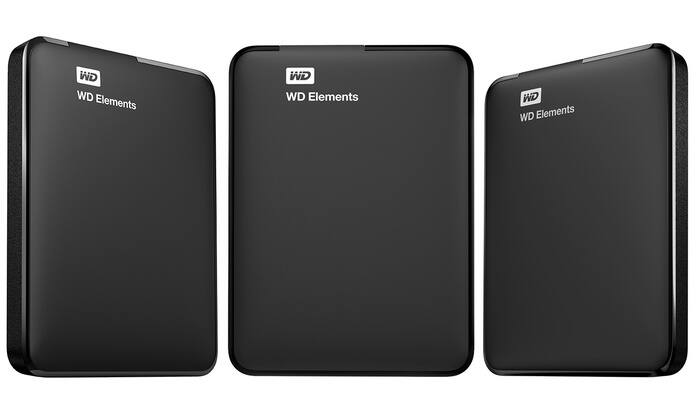 Western Digital Elements 750GB ($34.99), 1TB ($39.99), 1.5TB ($44.99) USB 3.0 External Hard Drive (Mfg Refurbished) + Possible Additional 40, 30, 25, 20, 10% Coupon Off + FS