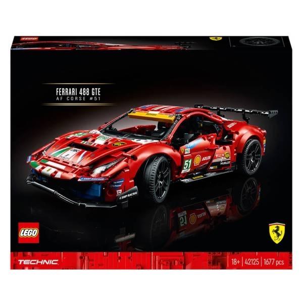 "LEGO Technic Ferrari 488 GTE ""AF Corse #51"" (42125) - $144.99"