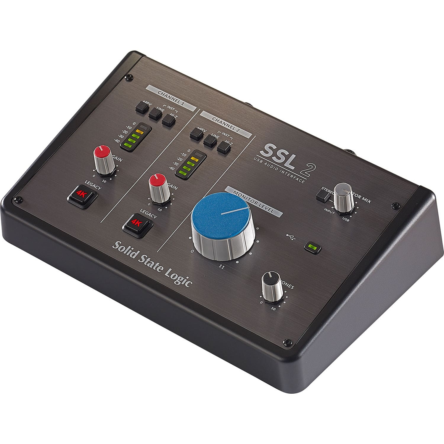 Solid State Logic SSL2 2-In/2-Out USB Audio Interface $200