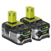 Home Depot Deal: Ryobi 18V Lithium+ 2x4Ah Batteries $99 (P122) @ Home Depot BM (In store only)