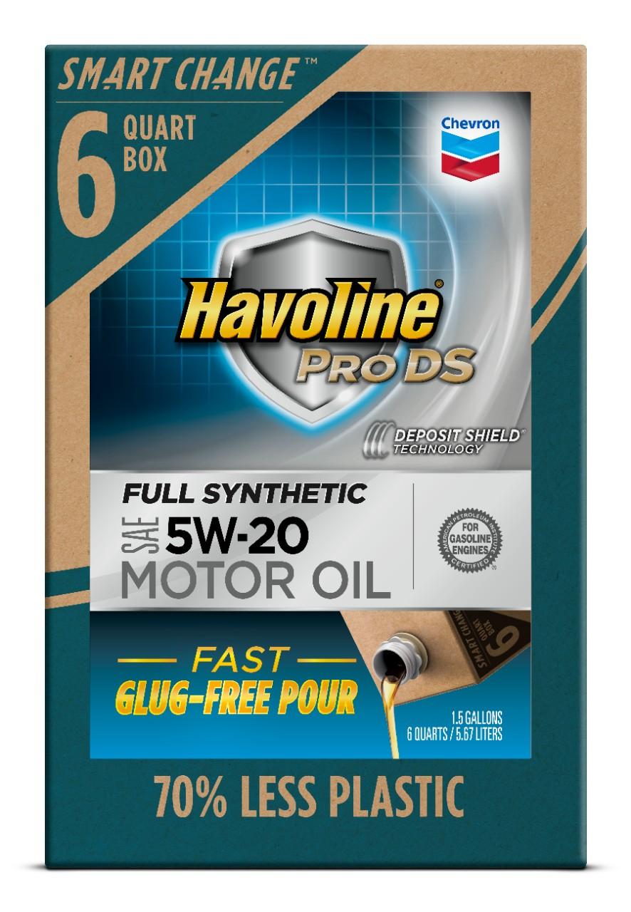 6-Quart Chevron Havoline Smart Change ProDS 5W-20 Full Synthetic Motor Oil