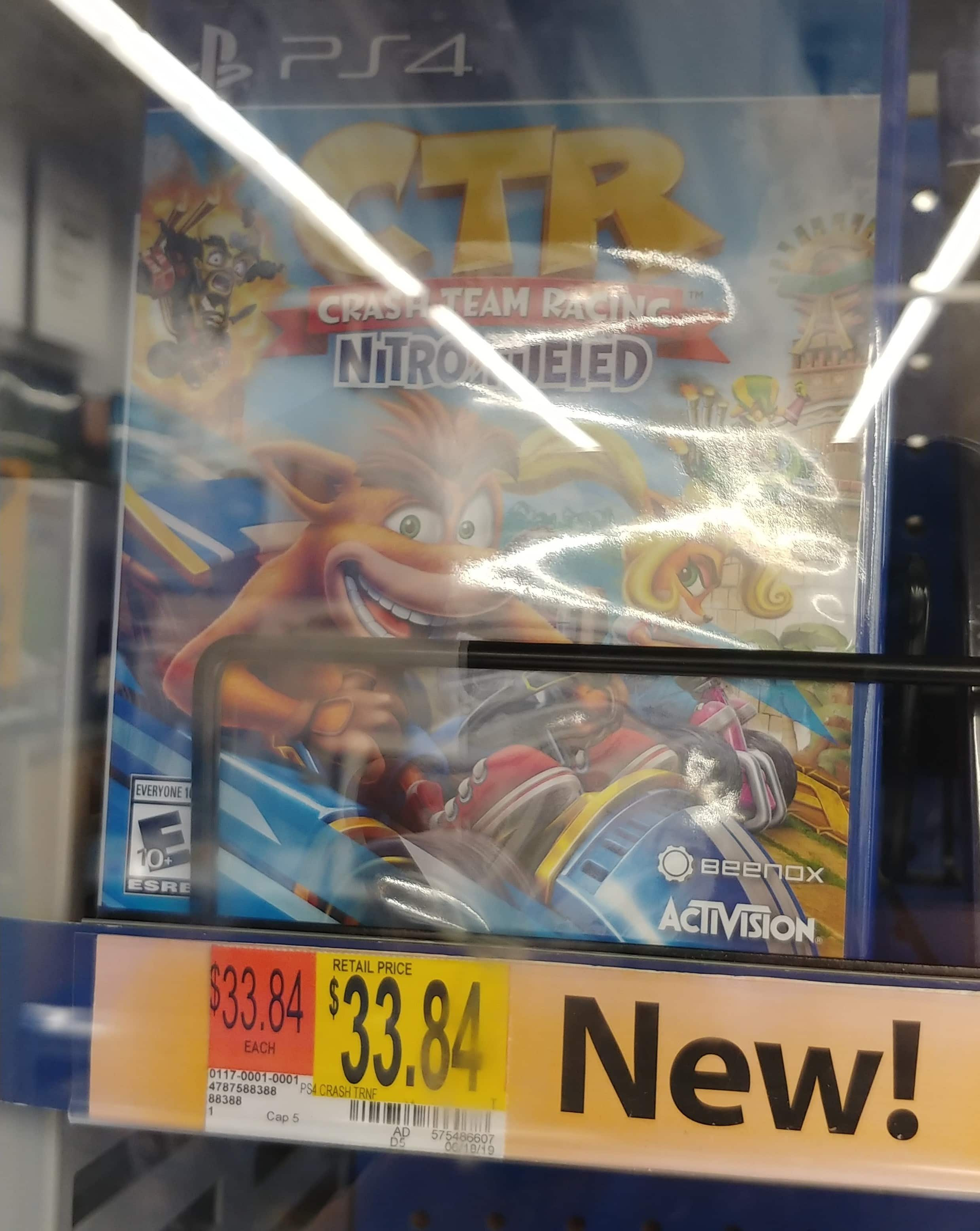 Crash Team Racing: Nitro Fueled (PS4, Xbox One, Switch) $33.84 @Walmart In-Store only