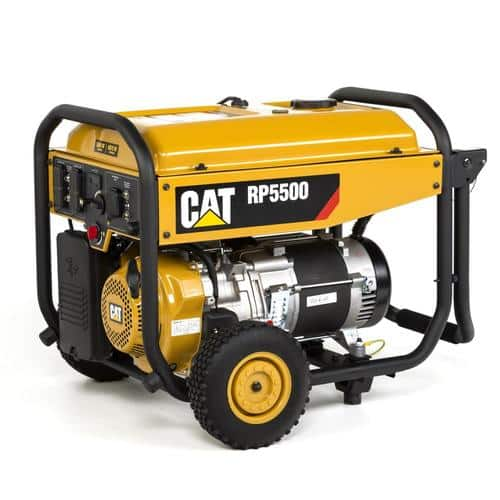 Caterpillar RP5500 CAT® 5500 Watt Portable Generator - $237 was $950 @ Lowes YMMV