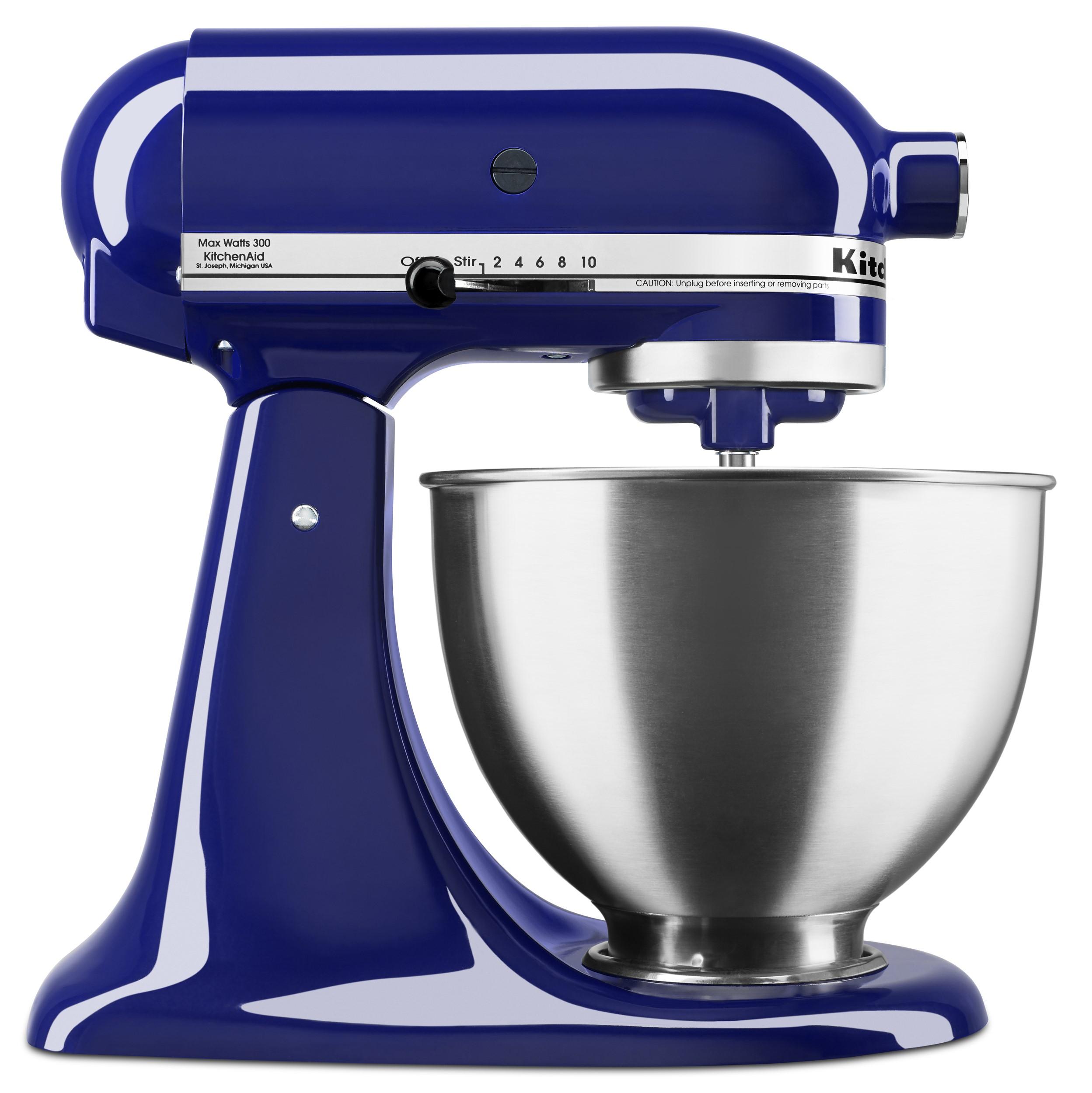 KitchenAid Deluxe 4.5 Quart Tilt-Head Cobalt Blue Stand Mixer (KSM88BU) YMMV Clearance @ Walmart B&M $99
