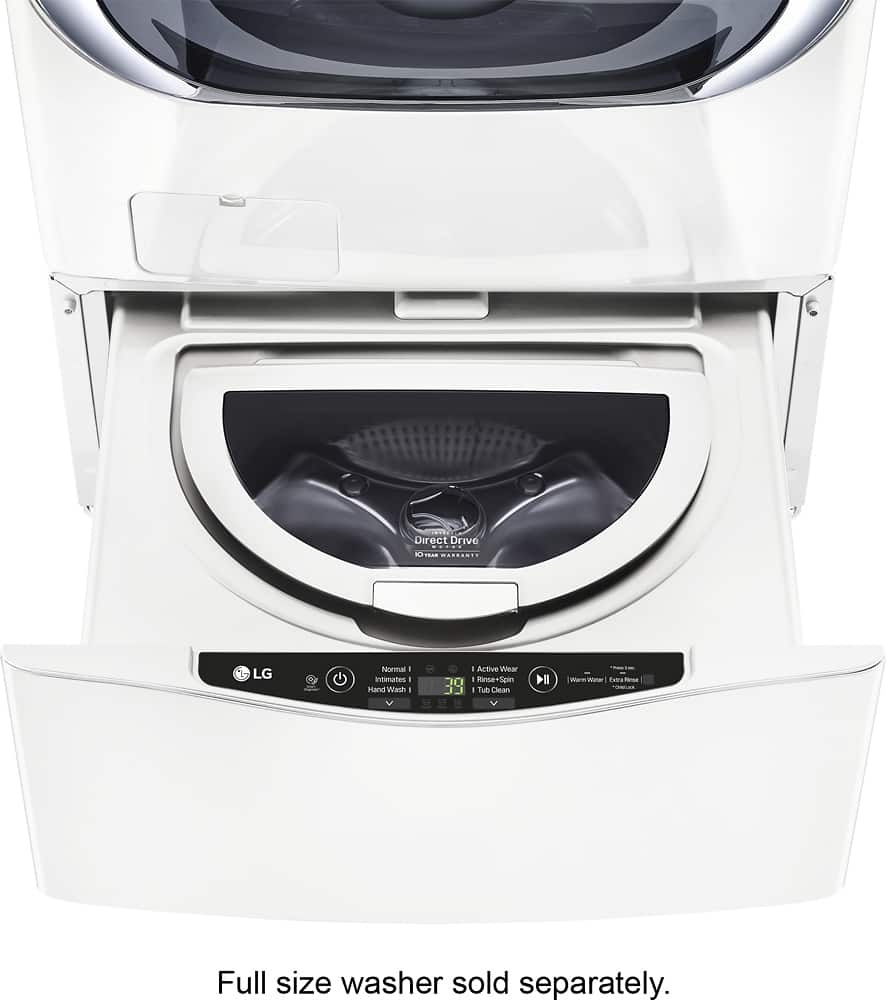 LG SideKick WD100CW Pedestal Washer White - 90% off - Open Box @ Best Buy YMMV