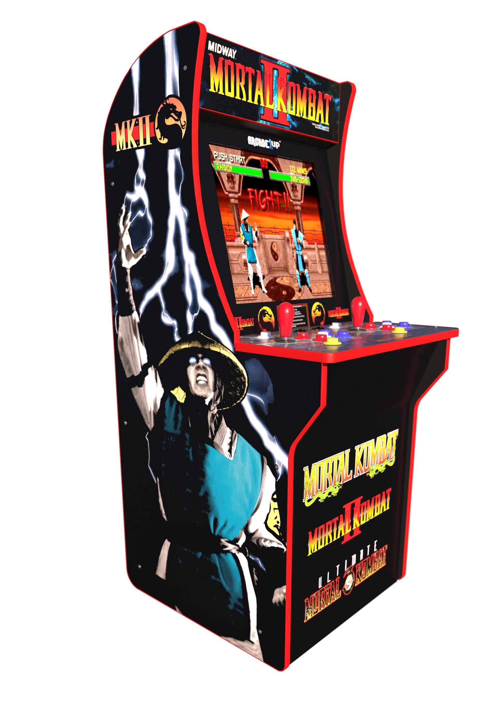 Mortal Kombat Arcade Machine, Arcade1UP, 4ft (Includes Mortal Kombat I,II, III)  -$199. - Walmart