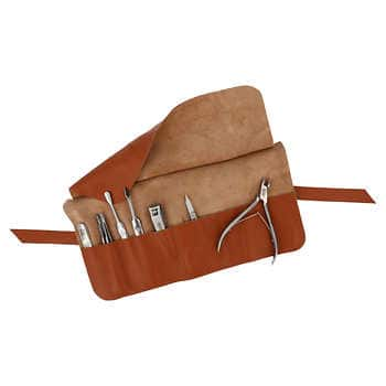 Nippes 8-piece Solingen Steel Manicure Set with Leather Case, Cream $39.97 at Costco.com