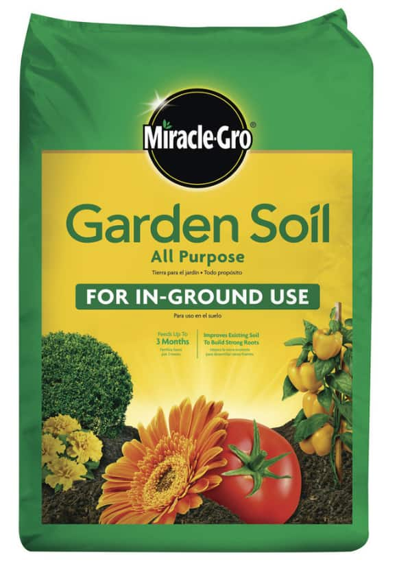 Miracle-Gro All Purpose 0.75-cu ft Garden Soil $2.14
