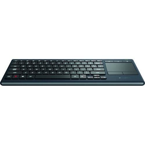 Logitech K830 Illuminated Living-Room Keyboard w/ Built-in Touchpad BT Amazon $39.99
