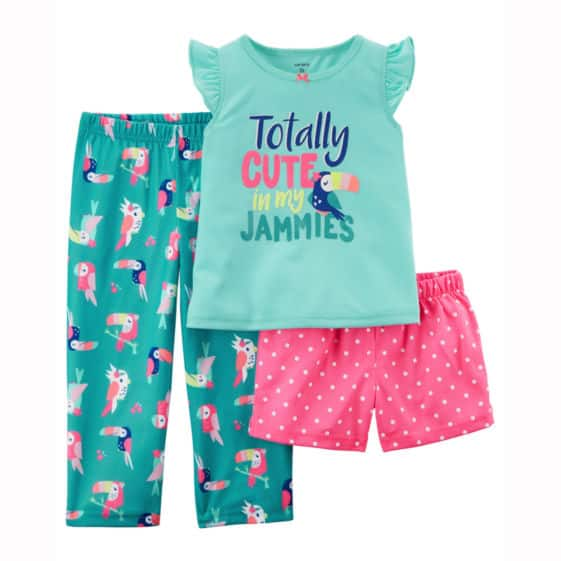 a0253f52a Carter's 3-pc. Pajama Set - Toddler Girls 2T-5T - $2.99 Free Shipping to  Store $25+ @ JCP