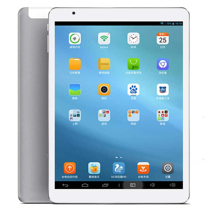 "Teclast X98 Air II 9.7"" Android Tablet w/ 2048x1536 Resolution Display, Intel 2.16GHz Quad-Core, 32GB Storage & Wi-Fi - $189.99 (Support Windows 8.1)"