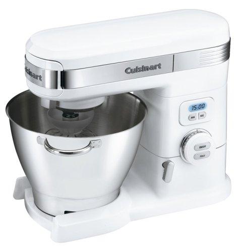 Cuisinart SM-55 5-1/2-Quart 12-Speed Stand Mixer, White $160.01