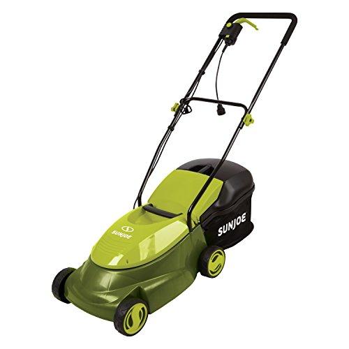 Sun Joe MJ401E Mow Joe 14-Inch 12 Amp Electric Lawn Mower With Grass Bag $80