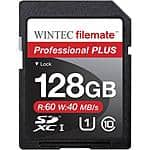 Wintec Filemate Professional Plus 128GB SDHC UHS-1 Memory Card Class 10 $33.14