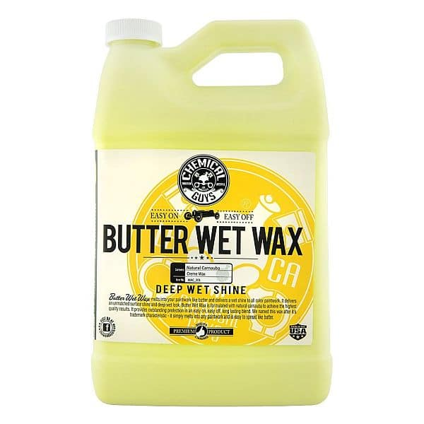 Chemical Guys Gallon Butter Wet Wax $28.04 S&S Amazon