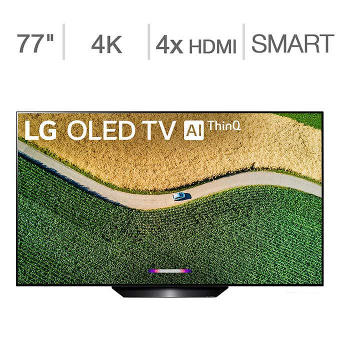 LG C9 77' OLED TV - OLED77C9 for $3200 with Square Trade Warranty at Costco - YMMV (In Store)