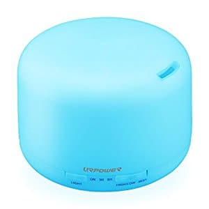 URPOWER 350ml Aromatherapy with 3 Timer and 7 LED Changing for  $15.99