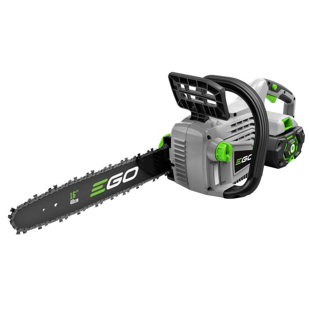 EGO Reconditioned 16 in. 56V Lith-Ion Cordless Chainsaw with 5.0 Ah Battery ($209)