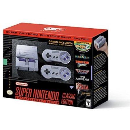 Nintendo Super Nintendo SNES Classic Walmart B&M YMMV $79