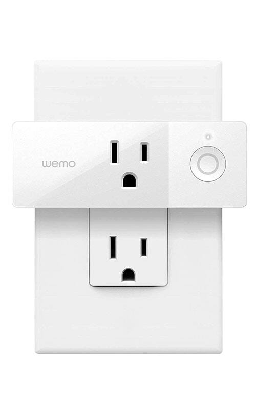 WeMo Mini Smart Plug only $10 for targeted Amazon Customers