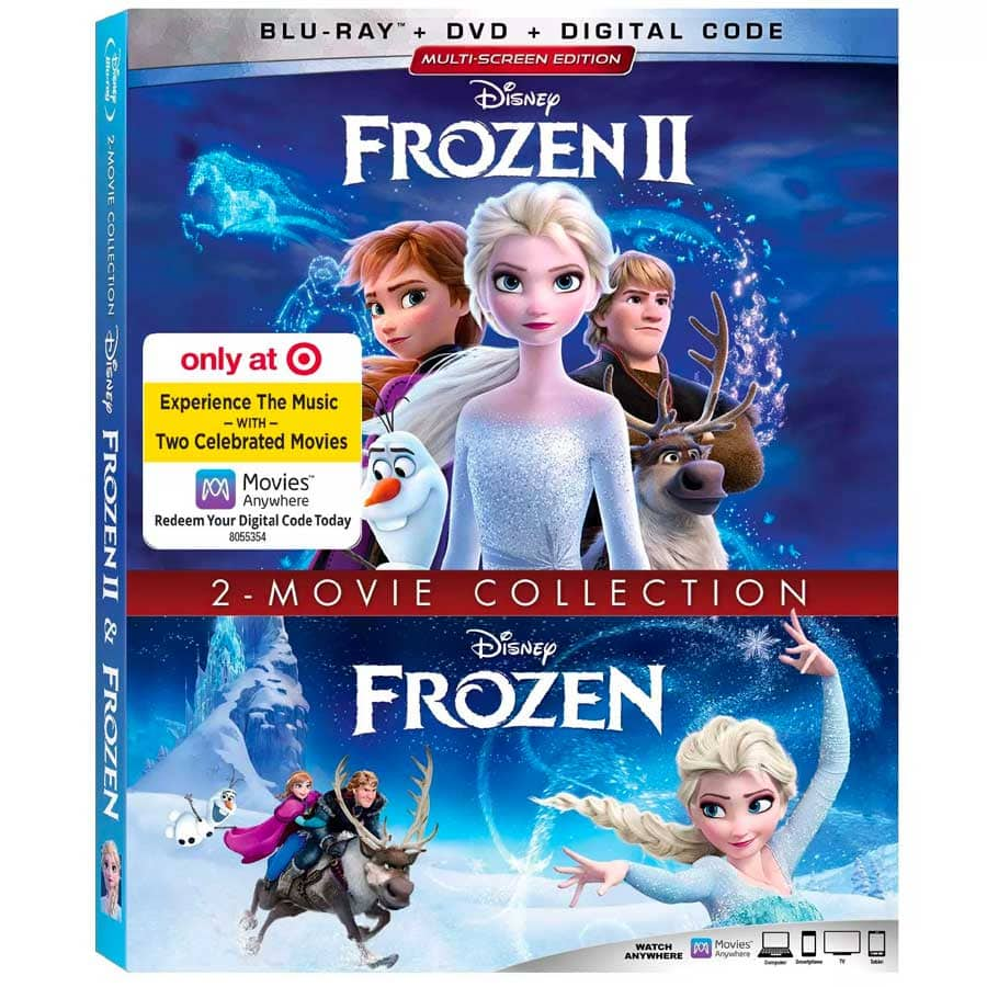 Frozen 2-Movie Collection (I & II),Target Exclusive, Blu-ray + DVD + Digital $11.99 YMMV