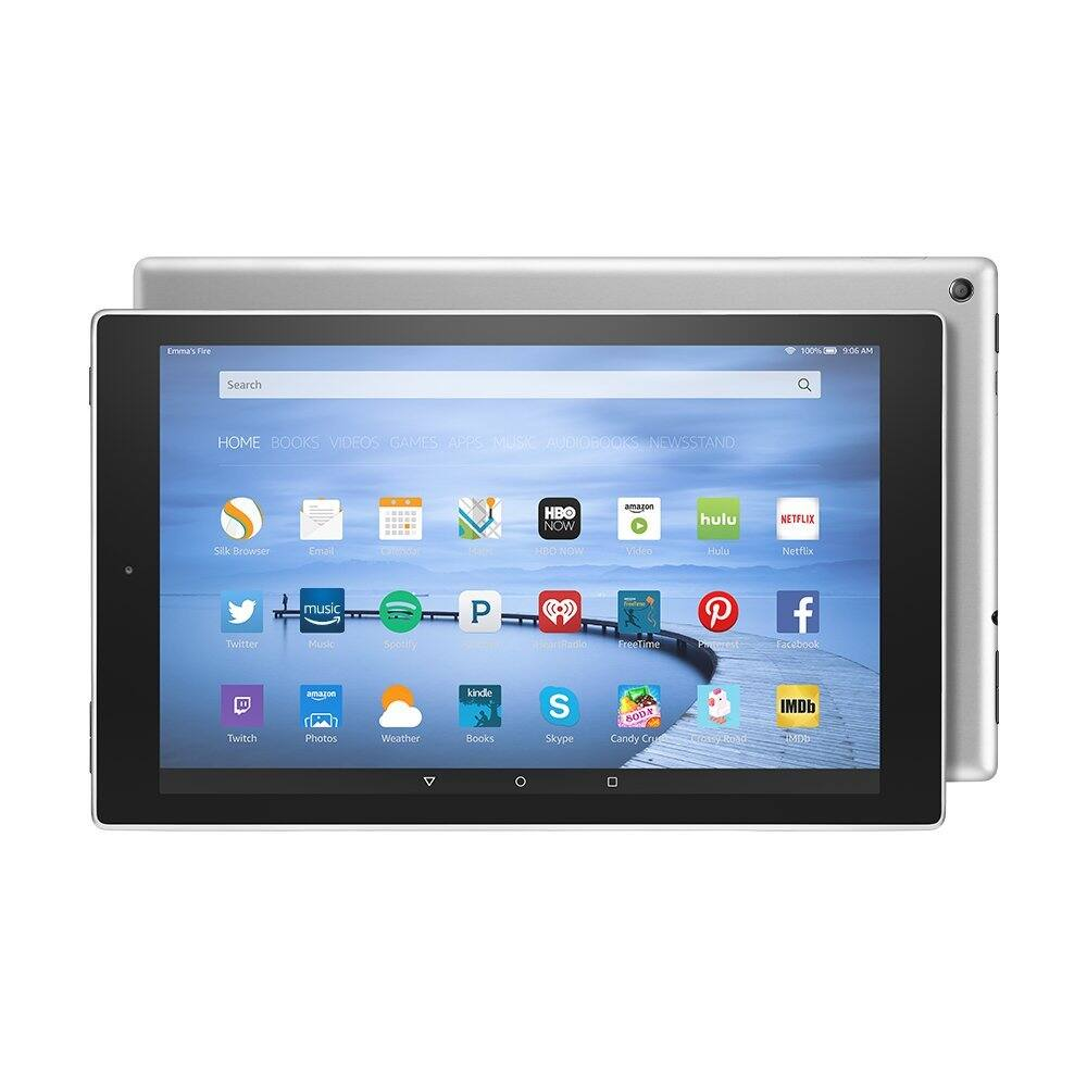 "Certified Refurbished Fire HD 10 Tablet 10.1"" HD Display, Wi-Fi, 16 GB $119.99"