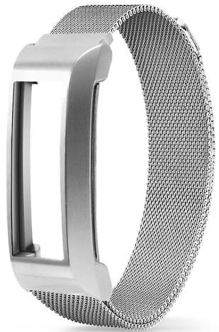 Fitbit Alta Milanese Band with Frame + Free Silicone Buckle Wristband $18 @Amazon (stacking coupons)