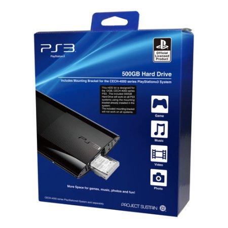 Zen Factory 500gb PS3 Hard Drive $30 @Walmart B&M YMMV