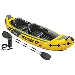 Intex Explorer K2 2-Person Inflatable Kayak Set via Amazon_$69.99 w/ Free S&H