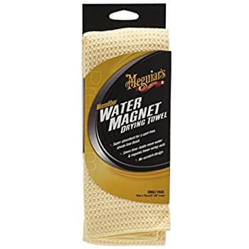 Meguiars X2000 Water Magnet Microfiber Drying Towel via Amazon for $6.60
