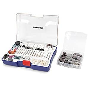 WORKPRO 295-piece Compact Rotary Tool Accessories Kit via Amazon for $18.99