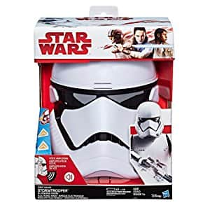 Star Wars: The Last Jedi First Order Stormtrooper Electronic Mask via Amazon for $9.92 w/ FREE S&H