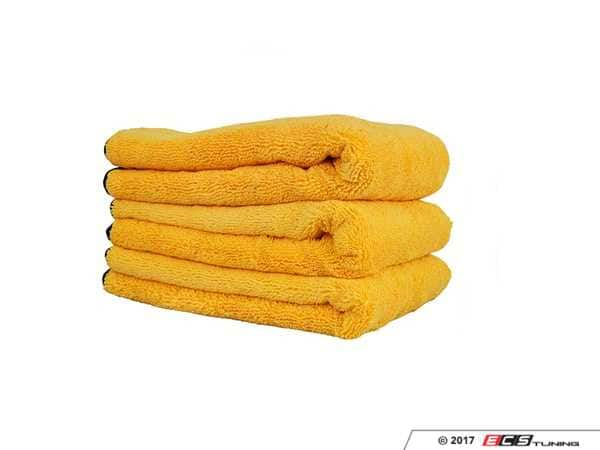 Chemical Guys up to 40% off at ECS Tuning - 3-pack MF Towels 16x24, Waterless Car Wash & Wax & more!