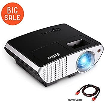 LED Video Projector, 1080p, 2000 Lumens, HDMI: $74.99 AC/Shipping