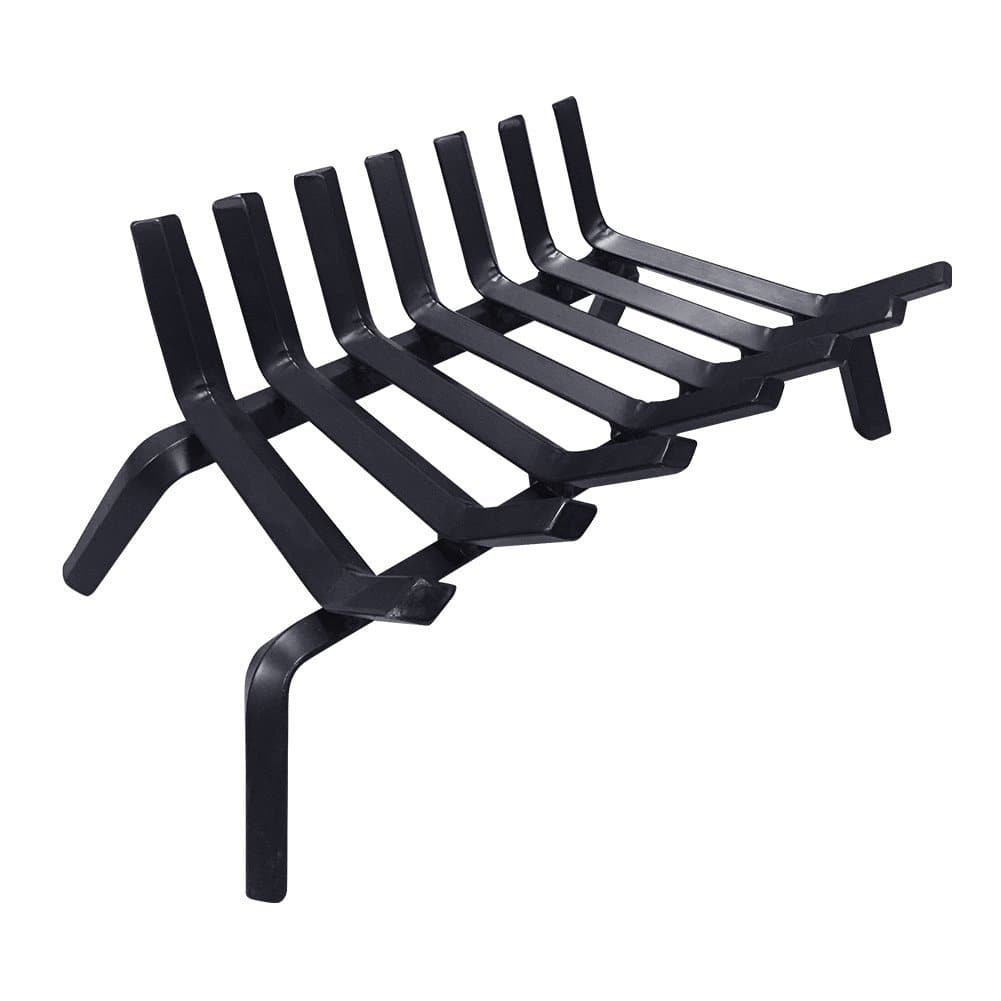 Fireplace Log Grate, 22in, Solid Steel, $36.00 AC/Shipping