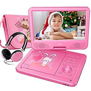 """10.5"""" Portable DVD Player and Headphones, $49.99 AC/Shipping"""