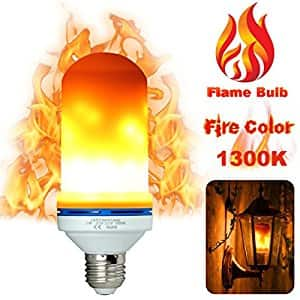 LED Flame Flicker E26 Bulb, 7w, $13.79 AC/Shipping