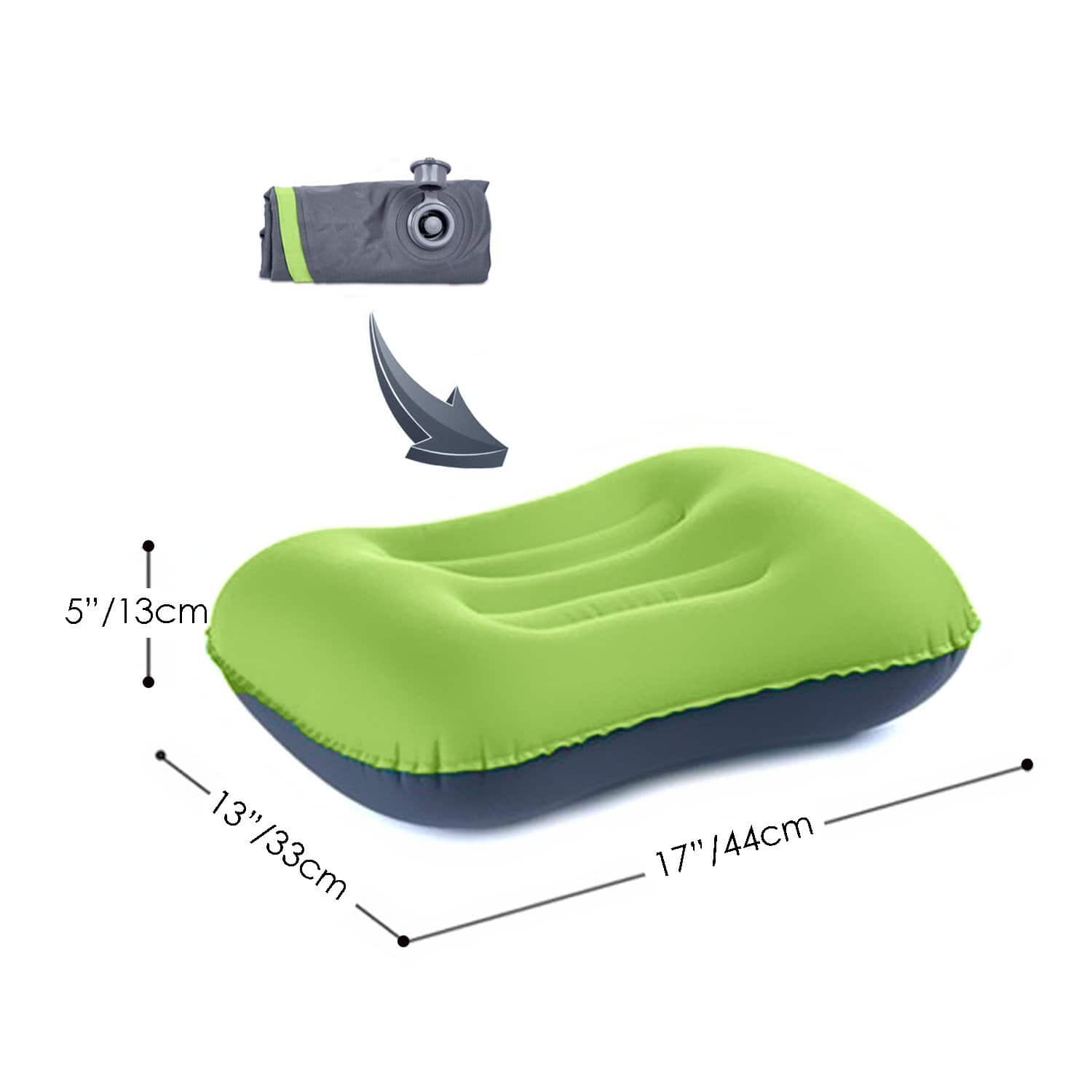 Inflatable Camping Pillow, $8.89 AC/Shipping @ Amazon
