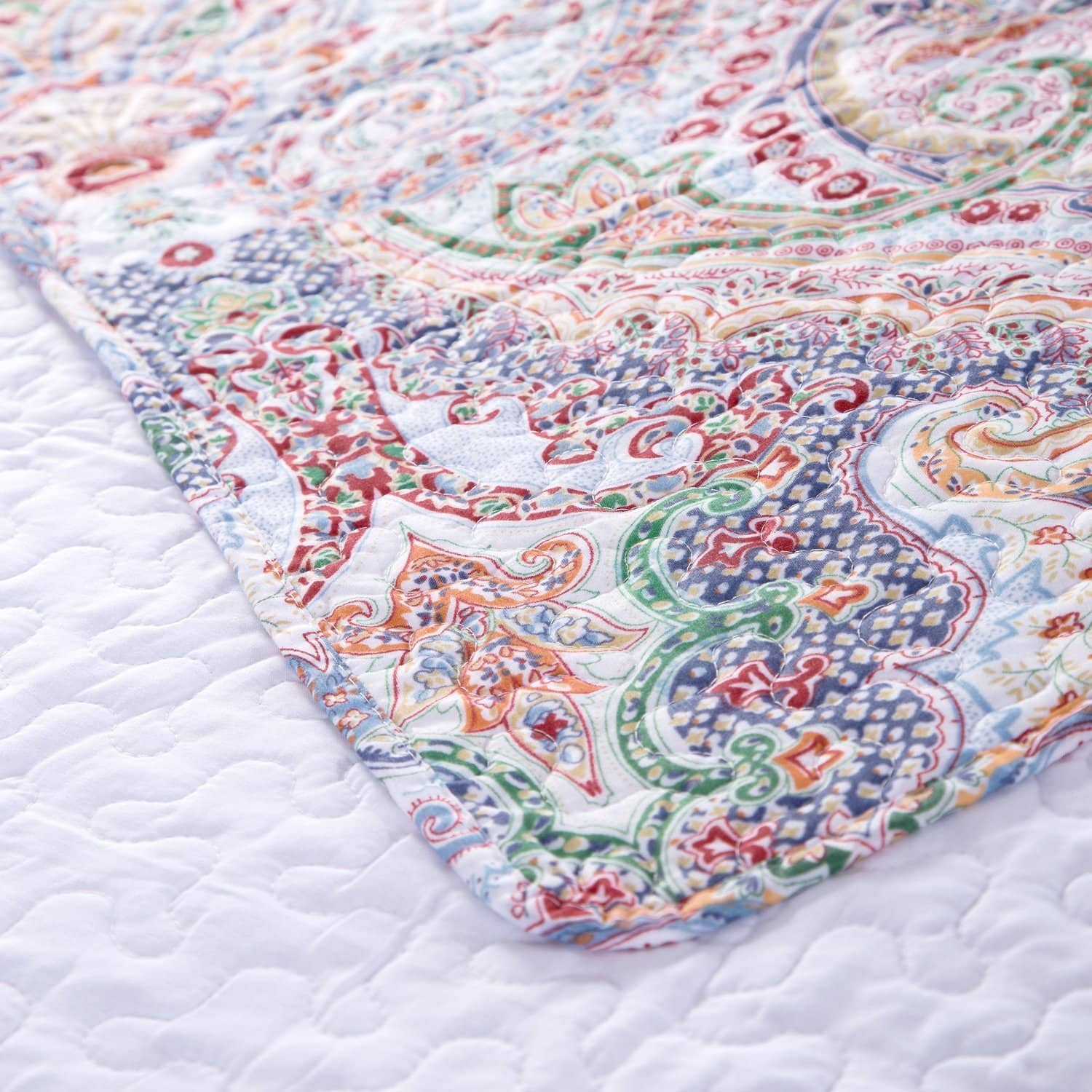 Bedshe: Printed Quilt Coverlet Set, Various sizes, from $14.84 AC/Prime shipping